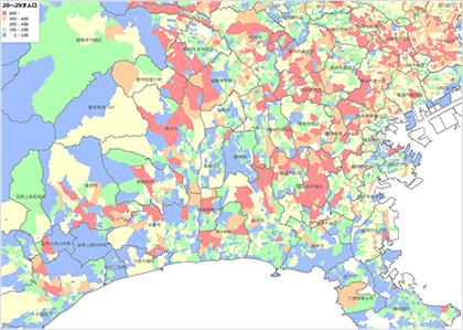 町丁・字等別人口・世帯数データ | データベース | エリア ...